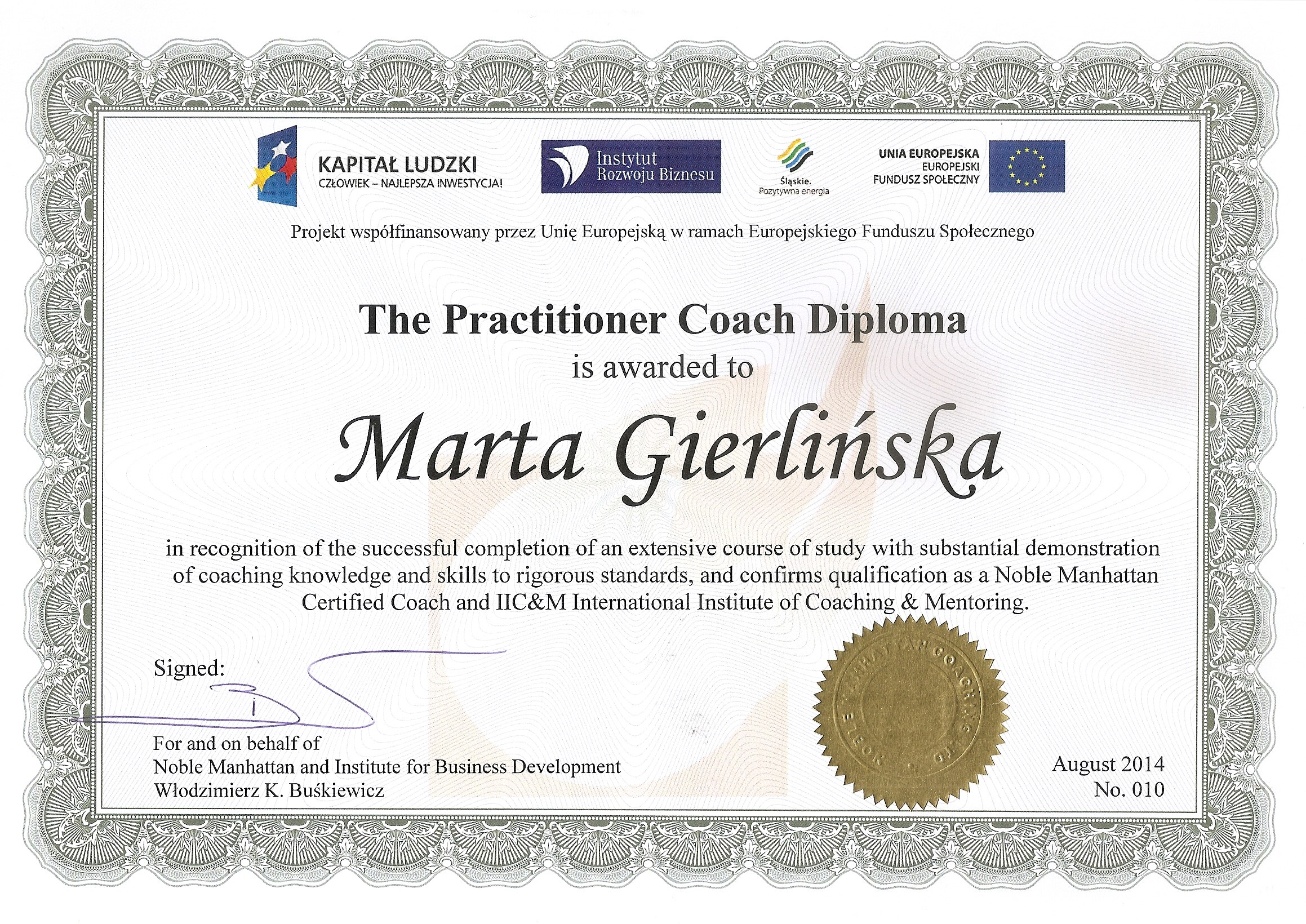 The Practitioner Coach Diploma